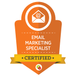 Certificated E-Mail Marketing Specialist