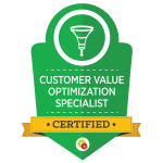Certificated Customer Value Optimization Specialist