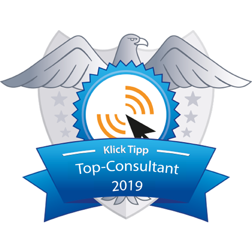 Badge Klick-Tipp Top Consult 2019