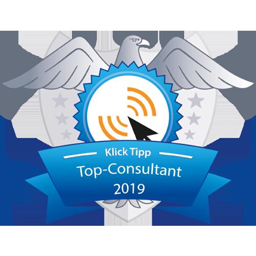 Badge Klick-Tipp Top Consult 2019